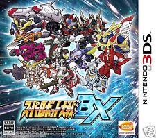 Super Robot Taisen BX BANDAI NINTENDO 3DS JAPANESE  JAPANZON