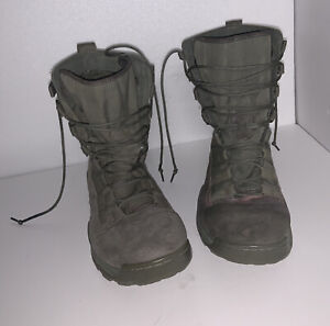 NIKE SAGE GREEN MILITARY TACTICAL BOOTS 922474-200 SIZE 11.5