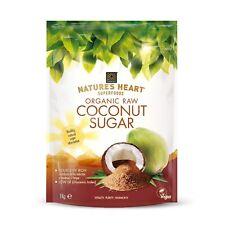 Organic Raw Coconut Sugar 1 Kg unrefined - Terrafertil Nature's Heart Superfoods