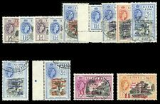 Sierra Leone 1963 Second Anniversary of Independence set VFU. SG 257-269.