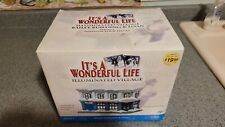 It's A Wonderful Life Village - Bailey Building & Loan - Series 1 - Enesco NEW