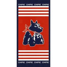 "Serviette de plage Drap de bain Chipie ""Grand large"" beach towel coton"