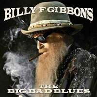 "Billy Gibbons - The Big Bad Blues (NEW 12"" BLUE VINYL LP) ZZ Top"