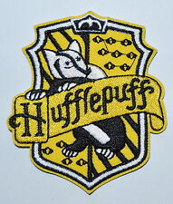 Harry House HUFFLEPUFF embroidered Potter Iron on Patch Crest Badge