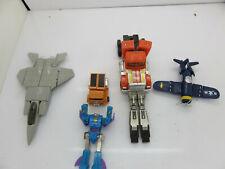 Bandai Gobots Robot Vehicle Lot Of 5 Vintage transformers robots