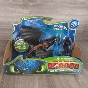 How to Train Your Dragon Hiccup and Toothless Action Figure Toy The Hidden World