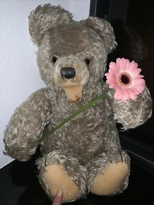 Teddybär antik Bär mindestens 100 Jahre - uralt, Dachbodenfund Nachlass