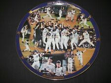 Arizona Diamondbacks 2001 World Series Champs Danbury Mint Collectors Plate