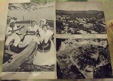 1962 Carte & Image Mexique rivage du golf,Acapulco de Juarez,cratère popocatépet