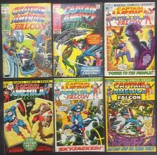 Captain America Comics (Lot of 6) Vintage 1971-72