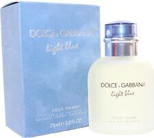 DOLCE & GABANNA LIGHT BLUE By D & G, MEN 2.5 OZ EAU DE TOILETTE SPRAY