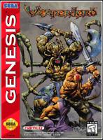 WeaponLord (1995) 16 Bit Only Game Card Sega Genesis Mega Drive System