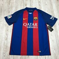 NIKE FC BARCELONA HOME STADIUM FOOTBALL SHIRT JERSEY Size L LARGE 776850 415
