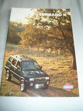Nissan Terrano II range brochure Mar 1995