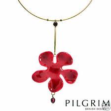 PILGRIM Skanderborg Denmark Flower Design Hand Crafted Necklace
