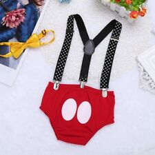 12-18M Baby Boy Girl Mickey Minnie Mouse Costume Cake Smash Photo Shoot Clothes