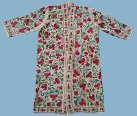 Original Vintage Uzbek Hand Embroidery Suzani Robe Dress Chapan SALE WAS $219.00