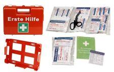 Erste Hilfe Koffer leer + WandHalter Betriebs Verbandskasten