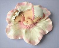 Edible Christening / baby shower cake decoration topper