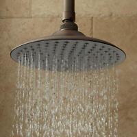 "Signature Hardware 926576-8-12 8"" Bostonian Rainfall Shower Head - Bronze"
