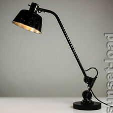 Vieille Hala Travail Lampe Bauhaus architectes Table Lampe 30er 40er vintage