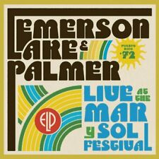 New: EMERSON LAKE AND PALMER - Live At The Mar Y Sol Festival '72 CD