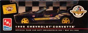 AMT ERTL 1:25 1998 Chevrolet Corvette 82nd Indy 500 Built Model Car #8086