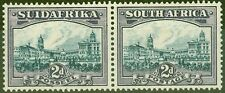 South Africa 1938 2d Blue & Violet SG44e Fine & Fresh Lightly Mtd Mint