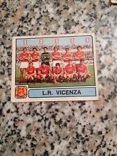 VICENZA N. 357 album CALCIATORI PANINI 1981 1982 OTTIMA CON VELINA DA BUSTNA
