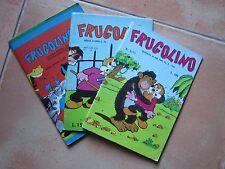 """LOTTO 3 fumetti FRUGOLINO n 22 n 40 serie d""""oro n 5/75 ediz. del fanciullo"""