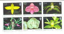Jersey orchids mnh set