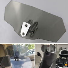 For Yamaha XJ900S Diversion MT-07 Tracer Clip on High Windshield Spoiler Gray