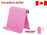 Universal Phone Stand Desk Holder Tablet Compatible for iPhone Samsung 10 Pink