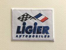 A044 // ECUSSON PATCH AUFNAHER TOPPA / NEUF / LIGIER AUTOMOBILES / 7.5*5.6 CM