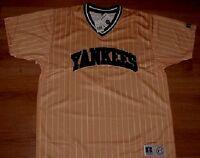 New York Yankees Fashion Pullover XL Pinstripes MLB New