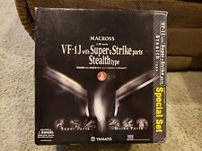 Macross  - VF-1J with Super & Strike Parts - Stealth Type (1:48 Scale)