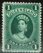 Francobolli australiani verde