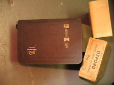 OXFORD PRAYER BOOK & HYMNAL  GILDED 1898 NMIB ENGLAND