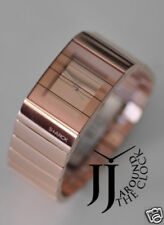 NEW PHILIPPE STARCK BY FOSSIL ROSE GOLD VIELED WATCH BRACELET LADIES PH5023