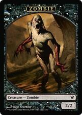 10 Token Cards - ZOMBIE - Innistrad - SAME ART - NM/SP - Magic MTG FTG