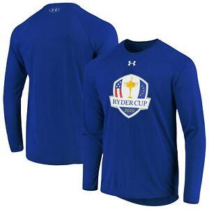 2020 Ryder Cup Under Armour Official Logo Raglan Performance Long Sleeve T-Shirt