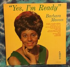 Barbara Mason  LP  Yes Im Ready  ARCTIC A-LPM 1000  Mono  RARE  Original (1965)