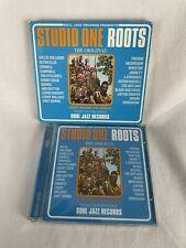 """Studio One: Roots"" - The Original - Various Artists Soul Jazz CD 16 tracks 2001"
