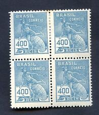 BRAZIL Yv# 176A Block of 4 no WTMK MH - MNH VF