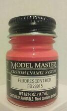 Testors Model Master Enamel paint 1775, Fluorescent Red. 1/2fl.oz. (14.7ml.)