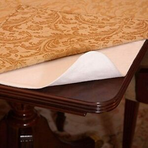 """Cushioned Dining Table Pad Protector Desk Hot Pads 52"""" X 70"""""""