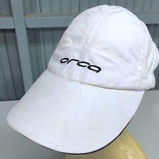 0b7bf67bb3bdf ORCA Swimming Sports Apparel Strapback White Baseball Cap Hat