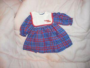 rare robe poupée corolle 1985 madame figaro vintage très bon état made in france