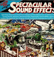 """SPECTACULAR SOUND EFFECTS Album Two 12"""" 33rpm Vinyl LP Album EMI THIS35 MONO DA"""