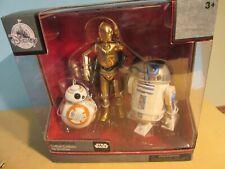 Disney STAR WARS DROID GIFT PACK R2-D2, C3PO, BB-8 Die Cast MIB